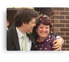 Mother and the Groom Canvas Print