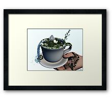Piece of Nature Cup Framed Print