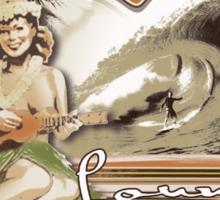 longboard lounge club Sticker