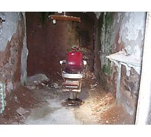 Eastern State Penitentiary-barbershop Photographic Print