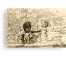 demolition girl Canvas Print