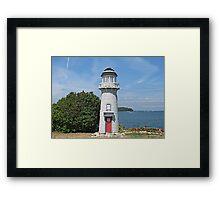 Camp Patmos Lighthouse Framed Print