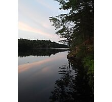 Long Lake, Apsley Ontario Canada Photographic Print