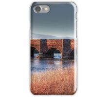 Oldest Bridge In Dorset iPhone Case/Skin
