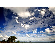 Clouds - Glasshouse Mountains Photographic Print