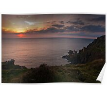 Crown Mines Botallack  Poster