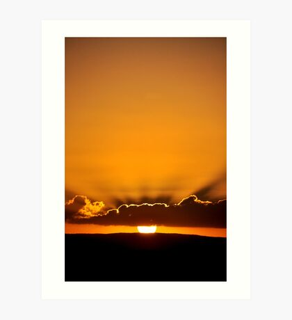 Sunset - Maroochydore Art Print