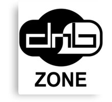Drum and bass zone Canvas Print