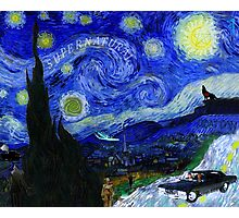 """Baby's Dark & Starry Night"" - new Supernatural design! Photographic Print"
