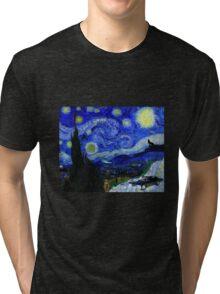 """Baby's Dark & Starry Night"" - new Supernatural design! Tri-blend T-Shirt"