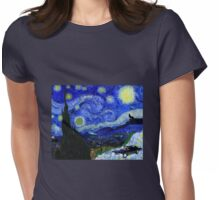 """Baby's Dark & Starry Night"" - new Supernatural design! Womens Fitted T-Shirt"