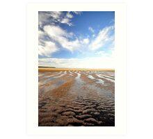 Low  Tide - Hervey Bay Art Print