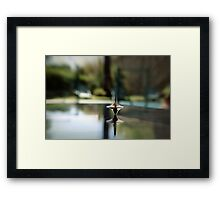 Inception Spinning Top Framed Print