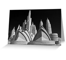 Sand Sculpture - Franston Beachfront Greeting Card