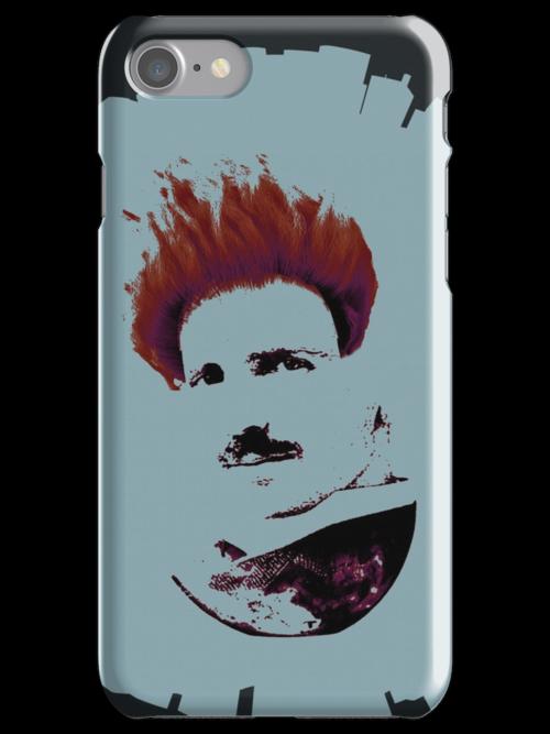 Nicola Tesla Punk Tea by Ozgur Kusakoglu