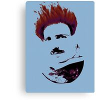 Nicola Tesla Punk Tea Canvas Print