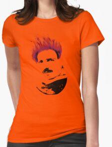 Nicola Tesla Punk Tea Womens Fitted T-Shirt