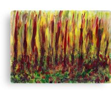 Burning Forest  Canvas Print