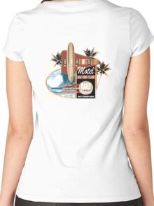 boardroom motel Women's Fitted Scoop T-Shirt