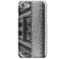 Bridge over the Weaver - Black and White iPhone Case/Skin