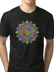 Inside The Bone of a Rainbow Tri-blend T-Shirt