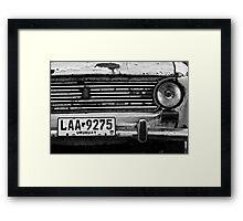 Old Fiat Framed Print