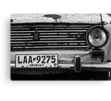 Old Fiat Canvas Print