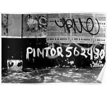 Pintor Tags Peru! Poster