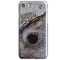 Remains of the Lizard King n°1 iPhone Case/Skin