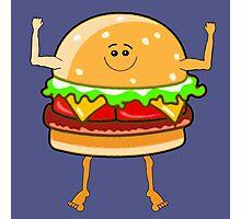 Yeah Burgers! Photographic Print