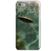UFO - Coming Up the Valley by Raphael Terra iPhone Case/Skin