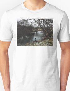 Winter crossing. T-Shirt