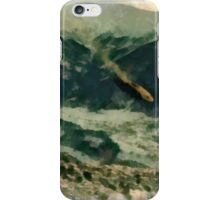 UFO - Going Down by Raphael Terra iPhone Case/Skin