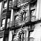 New York Apartment Block by Celia Strainge