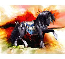 Kachina Hopi Native American Spirit Horse Photographic Print