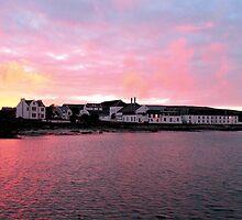 Bruichladdich Distillery, Islay by derekwallace