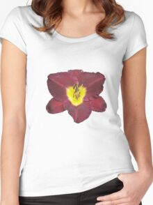 Lily for a Day June 13, 2010 Women's Fitted Scoop T-Shirt