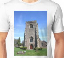 St Wilfrid's Church, Ribchester Unisex T-Shirt