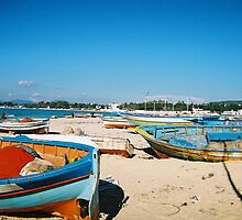 Boat Sky combo, Tunisia by Celia Strainge