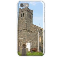 St Andrew's Church, Coniston, Lake District iPhone Case/Skin