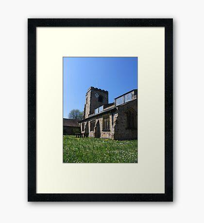 St Wilfrid's Church, Ribchester Framed Print