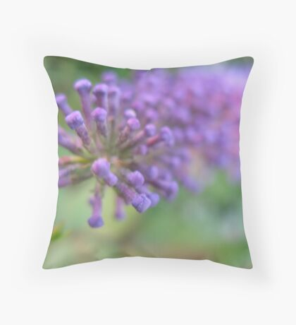 Purple Bullett Throw Pillow