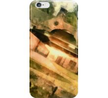 UFO - Visiting Her Majesty by Raphael Terra iPhone Case/Skin