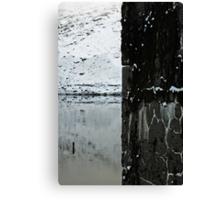 Quarters, base of snowdon Canvas Print