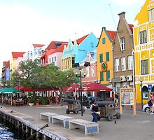 Along the Harbor in Curacao by Patricia127