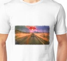 UFO - On the Road by Raphael Terra Unisex T-Shirt