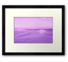 Lancelin Sand Dunes At Dusk  Framed Print