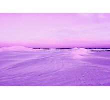 Lancelin Sand Dunes At Dusk  Photographic Print