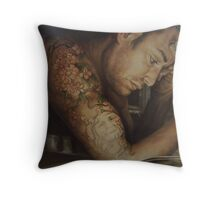 taking inventory Throw Pillow