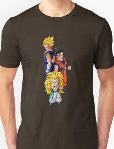 gotenks gohan vegito gogeta anime manga shirt T-Shirt
